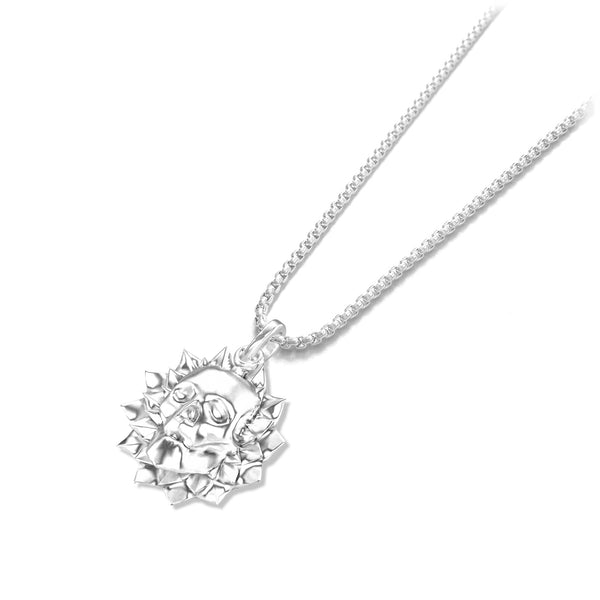 Flower of death Pendant - Sterling silver - ndm-jewelry