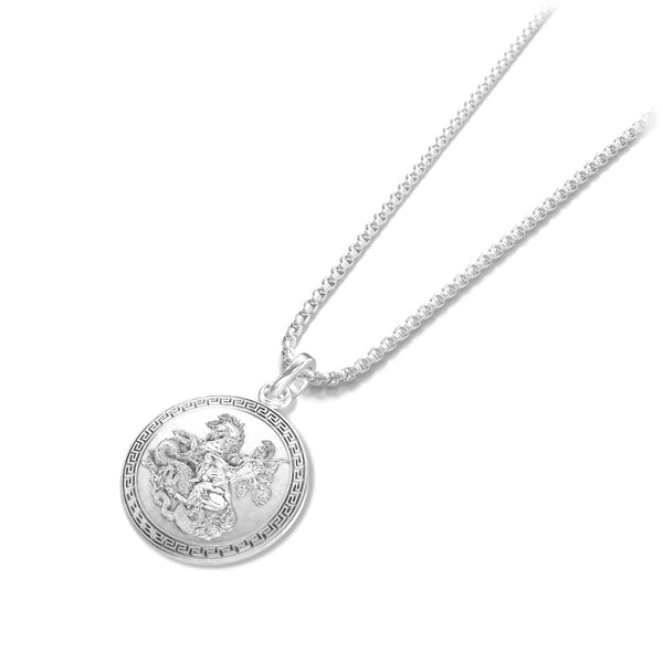 Saint George Pendant - Sterling silver - ndm-jewelry