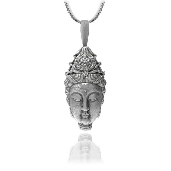 Goddess of mercy - Sterling silver - ndm-jewelry