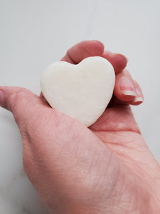 Sample heart solid bar shampoo+soap 2-in-1 travel size