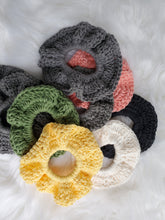 Load image into Gallery viewer, Compostable cotton scrunchie
