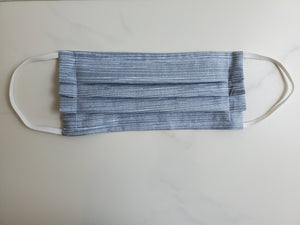 Cotton face mask with filter pocket
