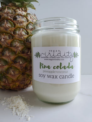 16 oz summer scented soy wax candle