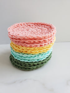 Rainbow set of makeup remover pads