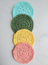 Load image into Gallery viewer, Rainbow set of makeup remover pads