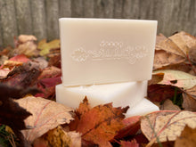 Load image into Gallery viewer, Autumn woods organic+all natural soap+shampoo bar
