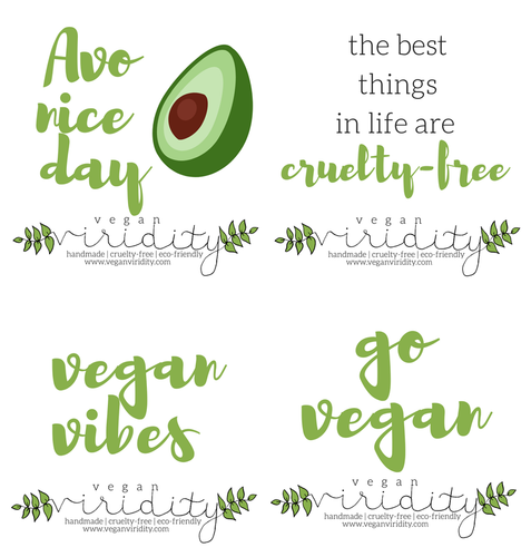 Vegan sticker pack