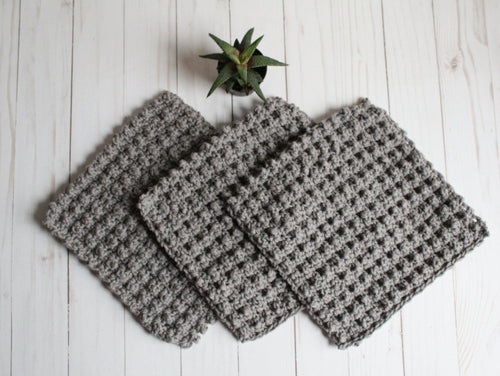 Cotton washcloth