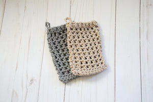 Cotton mesh soap saver bag