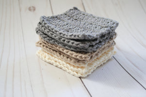 Reusable cotton makeup remover squares