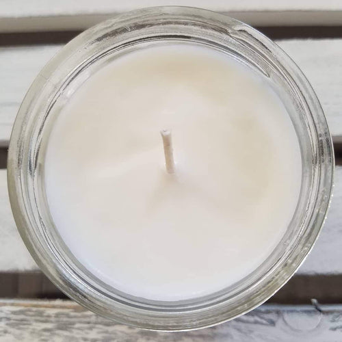 8 oz soy wax essential oil candle