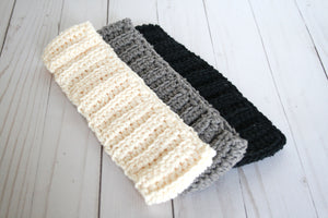 Cotton ear warmer