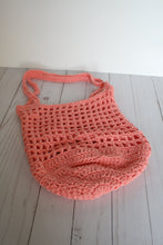 Load image into Gallery viewer, Farmer's market bag | mesh shopping bag | crochet produce bag | zero waste gift