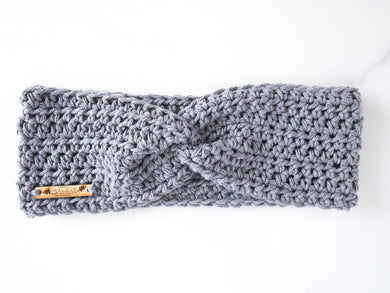 Cotton twist ear warmer