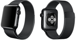 Milanese Apple Watch Fekete Szíj