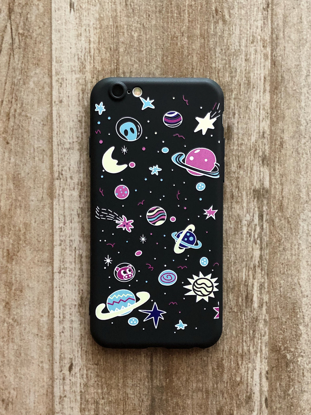 Cololorful Galaxis iPhone tok