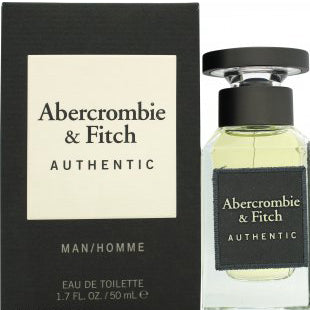 Abercrombie & Fitch Authentic Man Eau de Toilette 50ml Spray
