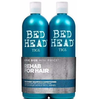 Tigi Duo Pack Bed Head Urban Antidotes Recovery 750ml Shampoo + 750ml Conditioner (Balsam)
