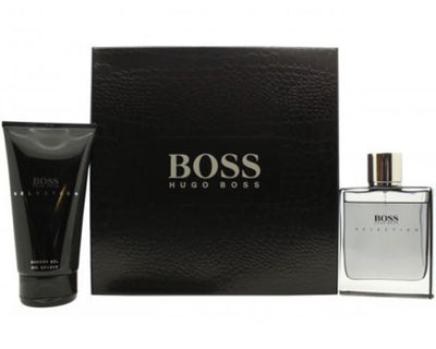 Hugo Boss Boss Selection Gavesæt 85ml EDT + 150ml Shower Gel