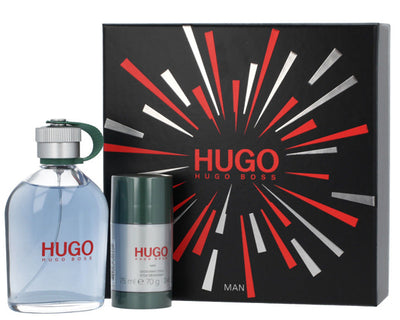 Hugo Boss Hugo Gavesæt 200ml EDT + 75ml Deodorant Stick