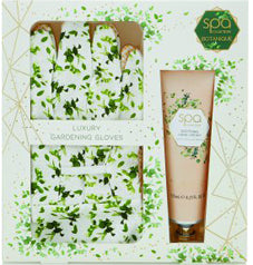 Style & Grace Spa Botanique Garden Gavesæt 125ml Håndcreme + Pair Of Garden Gloves