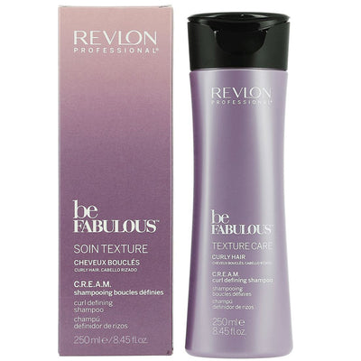 Revlon Be Fabulous Curly Shampoo 250 ml