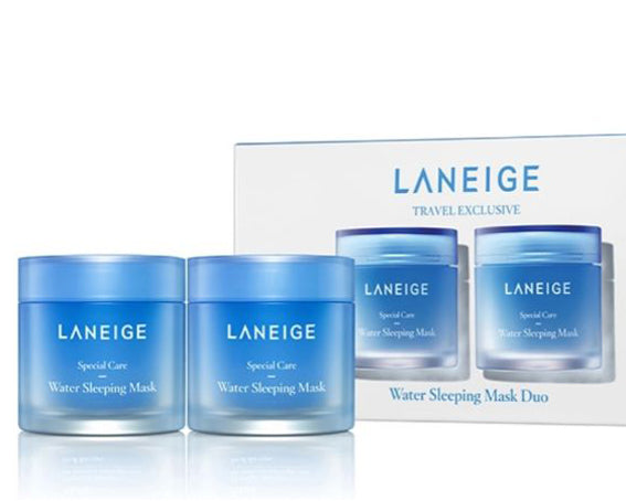 Laneige Water Sleeping Mask Gavesæt 2 x 100ml