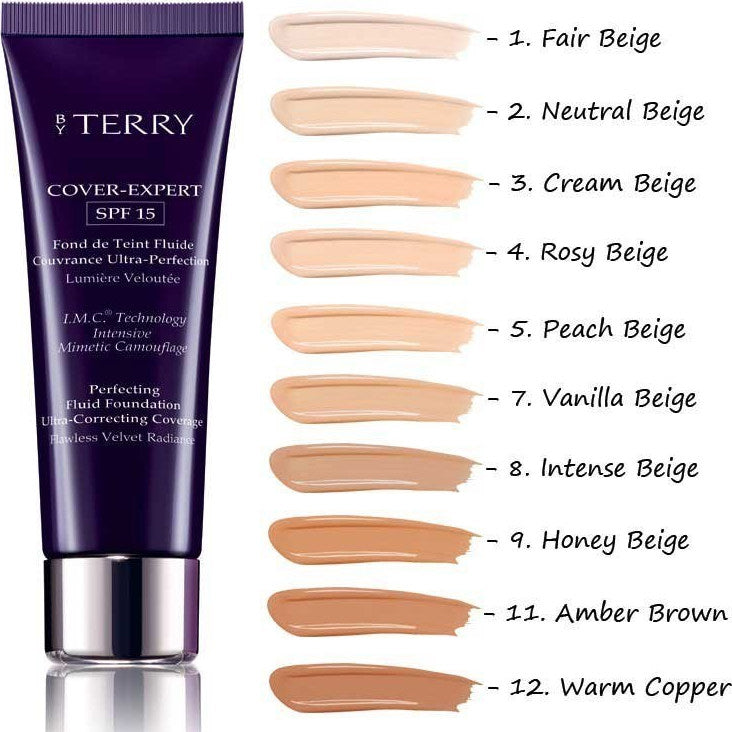 By Terry Cover Expert Perfecting Fluid Foundation SPF15 35ml - N3 Cream Beige