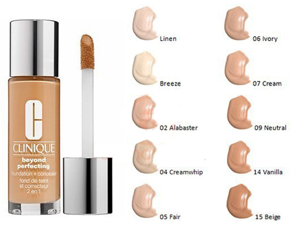 Clinique Beyond Perfecting Foundation + Concealer 30ml - 14 Vanilla