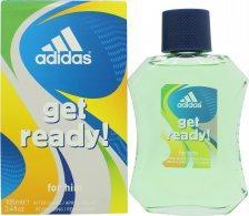 Adidas Get Ready! For Him Aftershave 100ml Splash Aftershave Lotion (Splash) Adidas
