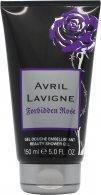Avril Lavigne Forbidden Rose Shower Gel 150ml Shower Gel Avril Lavigne
