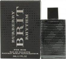Burberry Brit Rhythm Eau de Toilette 5ml Spray Eau de Toilette Burberry