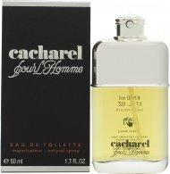Cacharel Pour L'Homme Eau de Toilette 50ml Spray Eau de Toilette Cacharel