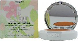 Clinique Beyond Perfecting Powder Foundation + Concealer 14g - Beige Foundation Clinique