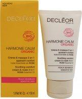 Decleor Harmonie Calm Soothing Comfort 2 in 1 Cream & Mask 50ml Ansigts Creme Decléor