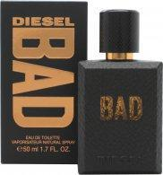 Diesel Bad Eau de Toilette 50ml Spray Eau de Toilette Diesel