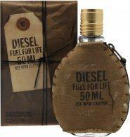 Diesel Fuel For Life Eau de Toilette 50ml Spray Eau de Toilette Diesel