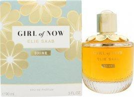 Elie Saab Girl Of Now Shine Eau de Parfum 90ml Spray Eau de Parfum Elie Saab