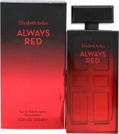 Elizabeth Arden Always Red Eau de Toilette 100ml Spray Eau de Toilette Elizabeth Arden