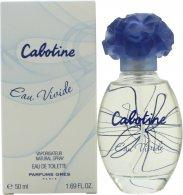 Gres Parfums Cabotine Eau Vivide Eau de Toilette 50ml Spray Eau de Toilette Gres Parfums