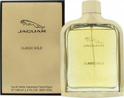 Jaguar Classic Gold Eau de Toilette 100ml Spray Eau de Toilette Jaguar