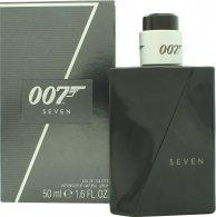 James Bond 007 Seven Eau de Toilette 50ml Spray Eau de Toilette James Bond