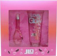Jennifer Lopez Love At First Glow Gavesæt 30ml EDT + 200ml Bath & Shower Gel Eau de Toilette Jennifer Lopez