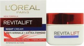 L'Oreal RevitaLift Night Cream 50ml Ansigts Creme L'Oréal