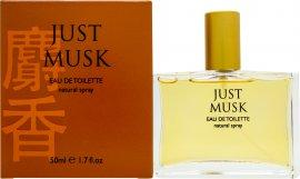 Mayfair Just Musk Eau de Toilette 50ml Spray Eau de Toilette Mayfair