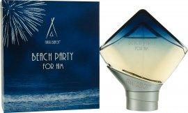 Nikki Beach Beach Party Man Eau de Toilette 100ml Spray Eau de Toilette Nikki Beach