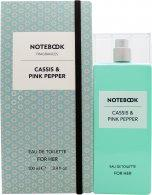 Notebook Cassis & Pink Pepper Eau de Toilette 100ml Spray Eau de Toilette Notebook