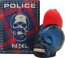 Police To Be Rebel Eau de Toilette 40ml Spray Eau de Toilette Police