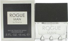 Rihanna Rogue Man Eau de Toilette 15ml Spray Eau de Toilette Rihanna