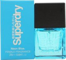 Superdry Neon Blue Eau de Cologne 25ml Spray Eau de Cologne Superdry